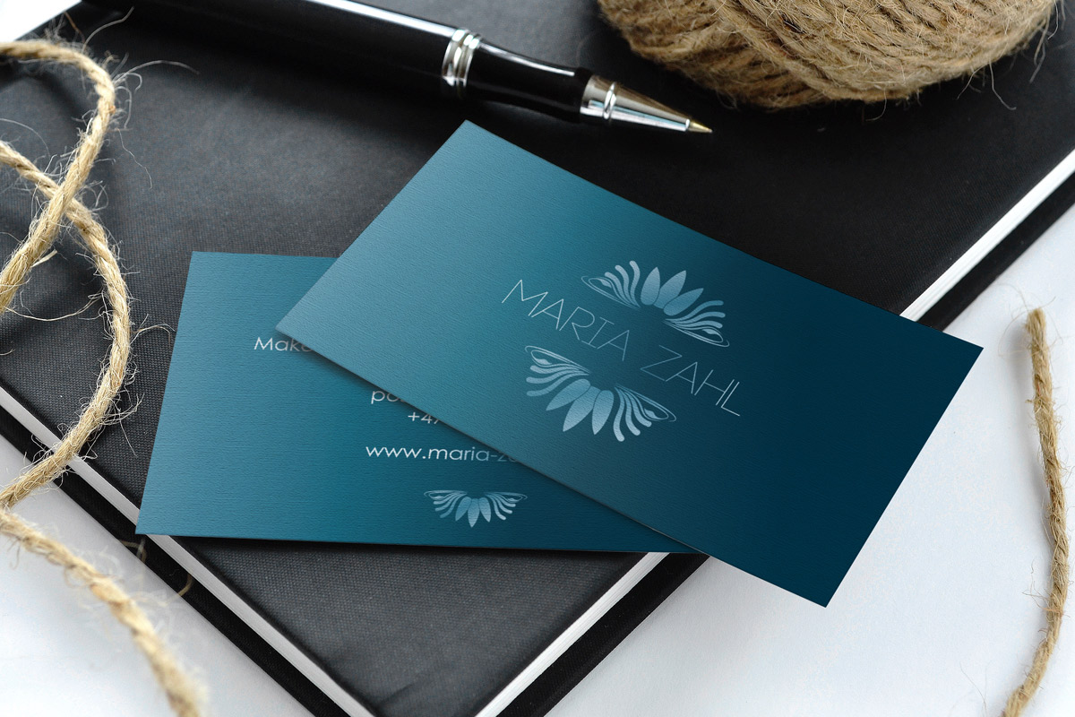 Business card - client Maria Zahl